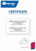 Merida sertifikatas