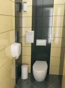 MERIDA KOMFORTAS tualetas