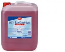 Sanitarinė valymo priemonė WC- und Sanitärreiniger Gel rot