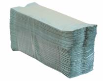 """Popieriniai rankšluosčiai sudėti """"C"""" formoje MERIDA KLASIK, žali, 3000 vnt. (20 pakelių po 150 vnt.)"""