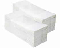 """Popieriniai rankšluosčiai sudėti """"C"""" formoje MERIDA TOP, balti, 2880 vnt. (20 pakelių po 144 vnt.)"""