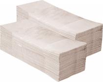 """Popieriniai rankšluosčiai sudėti """"Z"""" formoje MERIDA KLASIK, pilki, 5000 vnt. (20 pakelių po 250 vnt.)"""