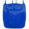 Dangtis 240 l konteineriui, mėlynas