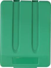Dangtis plastikiniam 33 l atliekų rūšiavimo konteineriui, žalias