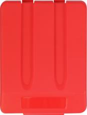 Dangtis plastikiniam 33 l atliekų rūšiavimo konteineriui, raudonas