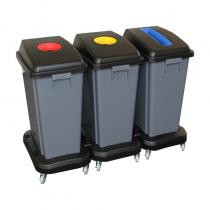 Konteinerių rinkinys atliekų rūšiavimui
